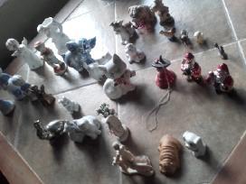 Daug porceliano statulėlių - nuotraukos Nr. 9