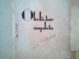 """Antanas Venslova """"Obelis kur augalota"""" 1945m. - nuotraukos Nr. 2"""