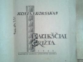 """Kostas Korsakas """"Pauksciai grizta"""" 1945m. - nuotraukos Nr. 2"""