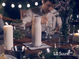 LG Musicflow Sound 360 Bluetooth kolonėlė - nuotraukos Nr. 2