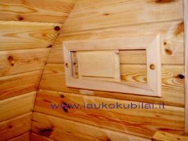 Apvali Lauko pirtis sauna - kubilas bačka L-4,8m - nuotraukos Nr. 11