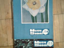 <Musu sodai>1966m.,1967m.,1968m.,1976m. komplektai