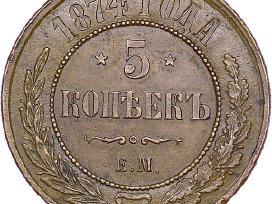 Perku sidabrinius rublius kolekcijai