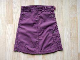 Violetinis sijonas 98/104 su pamušalu - nuotraukos Nr. 2