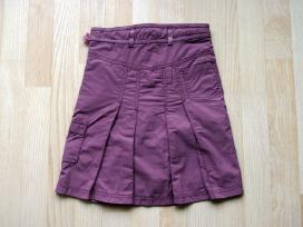Violetinis sijonas 98/104 su pamušalu - nuotraukos Nr. 3
