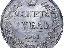 Perku sidabro monetas