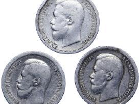 Brangiausiai perku sidabrines monetas