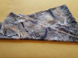 Pilkas margas plonas audinys - nuotraukos Nr. 5