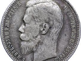 Į kolekciją pirkčiau sidabrines monetas