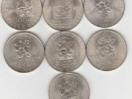 Cekoslovakija nuo 50kc. iki 100kc. 44vnt. monetu - nuotraukos Nr. 4