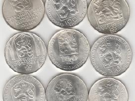 Cekoslovakija nuo 50kc. iki 100kc. 44vnt. monetu - nuotraukos Nr. 6
