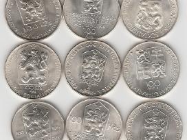 Cekoslovakija nuo 50kc. iki 100kc. 44vnt. monetu - nuotraukos Nr. 8