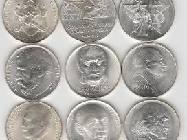 Cekoslovakija nuo 50kc. iki 100kc. 44vnt. monetu - nuotraukos Nr. 9