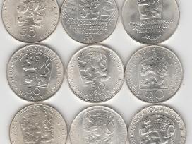 Cekoslovakija nuo 50kc. iki 100kc. 44vnt. monetu - nuotraukos Nr. 10