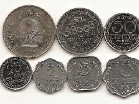 Sri Lankos monetu rinkinukas