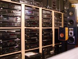 Perku įvairią buitinę garso techniką