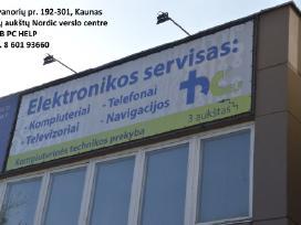 Smulkios buitinės elektronikos servisas Kaune