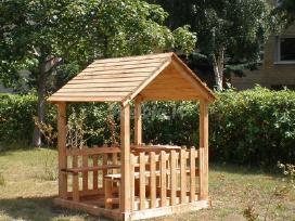 Vaikų žaidimų namelis - nameliai - nuotraukos Nr. 2