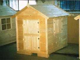 Vaikų žaidimų namelis - nameliai - nuotraukos Nr. 5