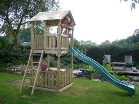 Vaikų žaidimų namelis - nameliai - nuotraukos Nr. 8