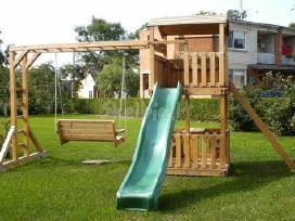 Vaikų žaidimų namelis - nameliai - nuotraukos Nr. 9