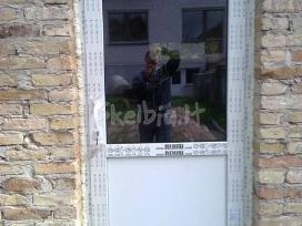 Plastikinių langų ir durų reguliavimas,remontas