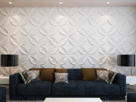 3D Sienų Plokštės, Gėlės 240789 vidaxl