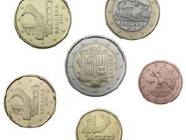 Andora euro monetu rinkinys