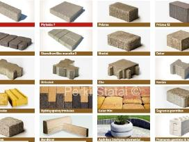 Brikers betoninės trinkelės ir borteli - nuotraukos Nr. 2