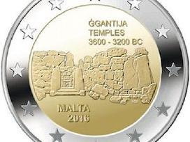 Malta, 2016 Ggantijos šventykla, 2 eurų moneta
