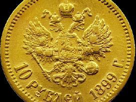 Perkame įvairias auksines,sidabrines monetas,auksą