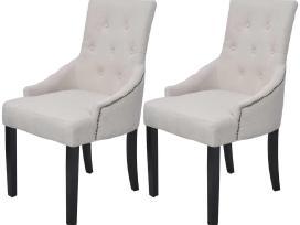 Vidaxl Valgomojo Kėdės, 2 vnt., Poliesteris vidaxl