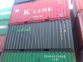 Nauji 20 pėdų jūriniai konteineriai. - nuotraukos Nr. 3