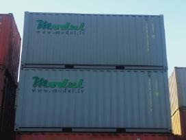 Nauji 20 pėdų jūriniai konteineriai. - nuotraukos Nr. 2