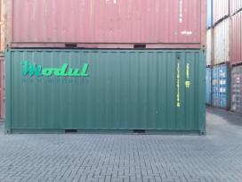 Nauji 20 pėdų jūriniai konteineriai. - nuotraukos Nr. 4
