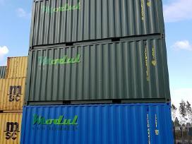 Nauji 20 pėdų jūriniai konteineriai. - nuotraukos Nr. 5