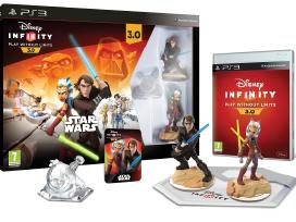 Ps4, PS3 Disney Infinity 3.0: Star Wars + figūros