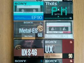 Parduodu ipakuotas audio kasetes,naujas papildymas