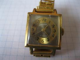 Laikrodis moteriskas su apyranke paauksuotas au10
