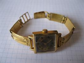 Laikrodis moteriskas su apyranke paauksuotas au10 - nuotraukos Nr. 2