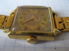 Laikrodis moteriskas su apyranke paauksuotas au10 - nuotraukos Nr. 3