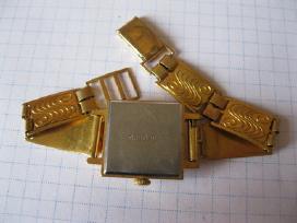 Laikrodis moteriskas su apyranke paauksuotas au10 - nuotraukos Nr. 7
