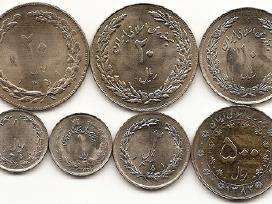Irano monetu rinkinukas