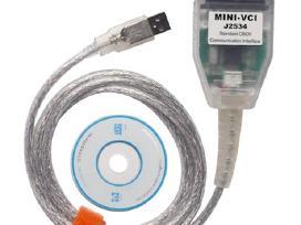 Toyota diagnostikos kabelis laidas Mini Vci J2534