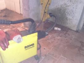 Kanalizacijos vamzdynų valymas - kanalizacijos atk - nuotraukos Nr. 10