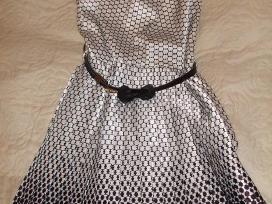 Puošni suknelė su dirželiu