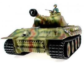Naujas rc tankas german tiger su garsu ir dūmais - nuotraukos Nr. 6