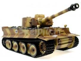Naujas rc tankas german tiger su garsu ir dūmais - nuotraukos Nr. 7