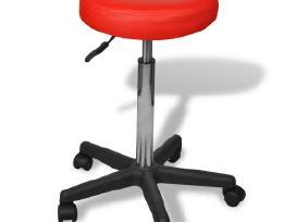 Raudona Biuro Kėdė, vidaxl