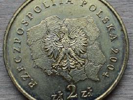 Lenkia pinigas 2 zlote 2004m. N258